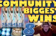 Community biggest slot wins Part 8 of 2018