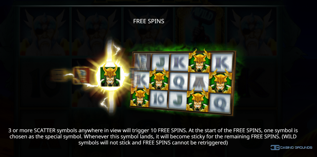 Isoftbet - Legend of Loki -Rules Freespins - casinogroundsdotcom