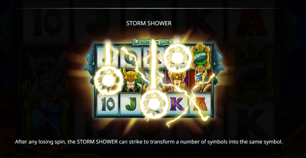 Isoftbet - Legend of Loki -Rules Storm Shower - casinogroundsdotcom