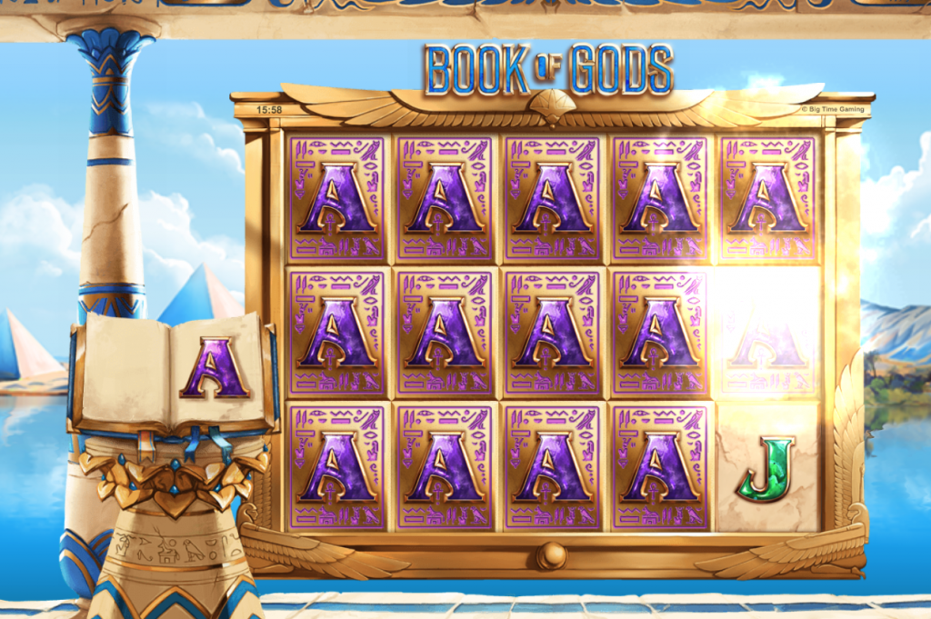 BTG - Book of Gods - Symbol Cloning - casinogroundsdotcom