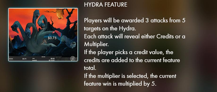 Jasons quest - hydra feature - casinogroundsdotcom