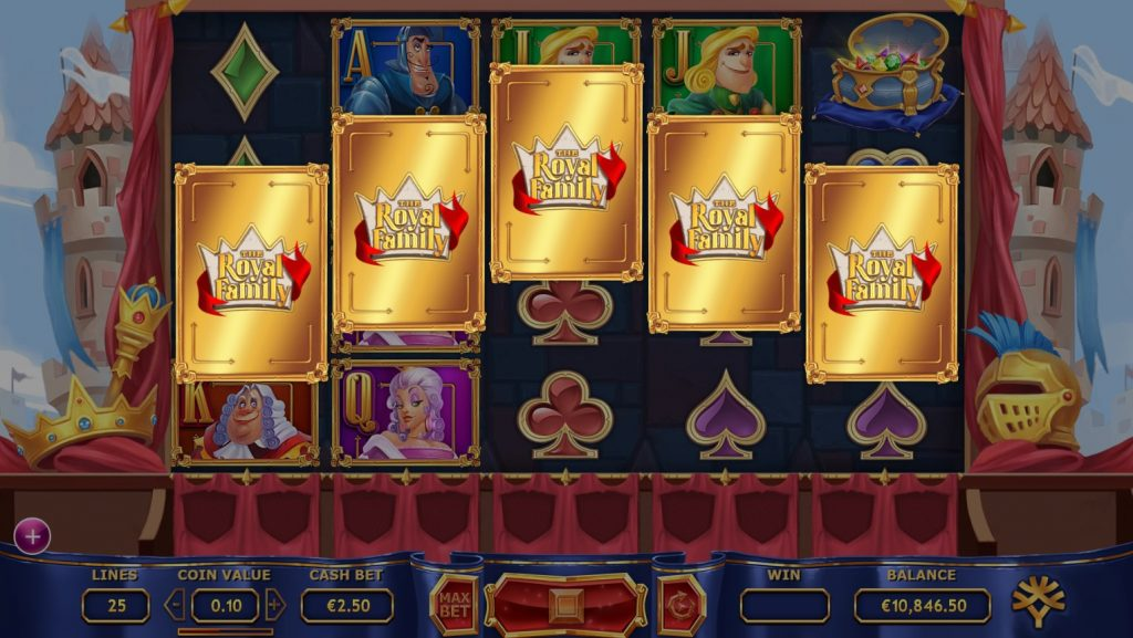 Yggdrasil - Royal Family - Reels - Royal Chest Cards - casinogroundsdotcom