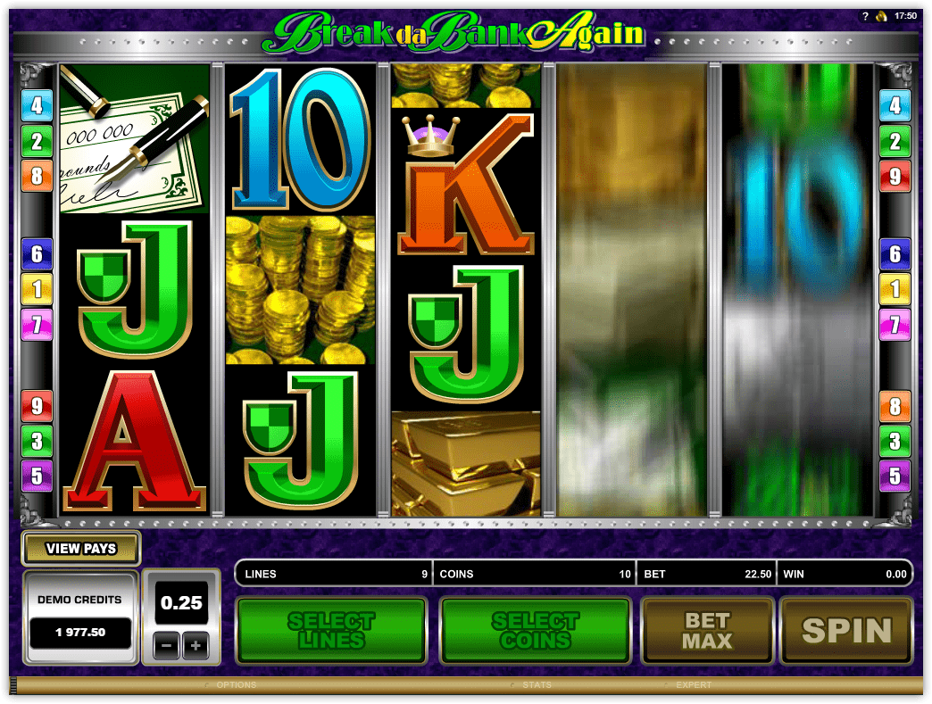 Video Slot Review – Break Da Bank Again – Microgaming