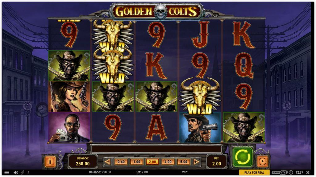 Video Slot Review – Golden Colts – Play'n Go