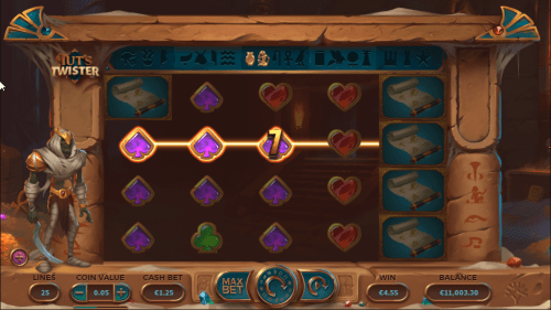 Yggdrasil - Tuts Twister - Reels - casinogroundsdotcom