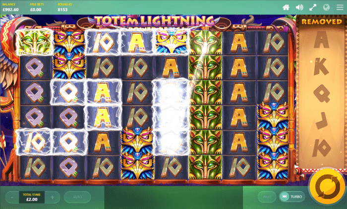 Red Tiger - Totem Lightning Power Reels - Chain Lightning - casinogroundsdotcom