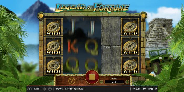 Red7 - Legend of Fortune - WIlds- casinogroundsdotcom