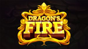 Image showing the logo of Dragons fire video slot from Red Tiger