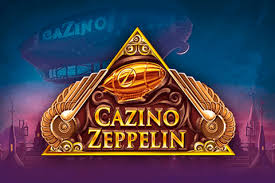Logo of the Cazino Zeppelin Slot by Yggdrasil Gaming