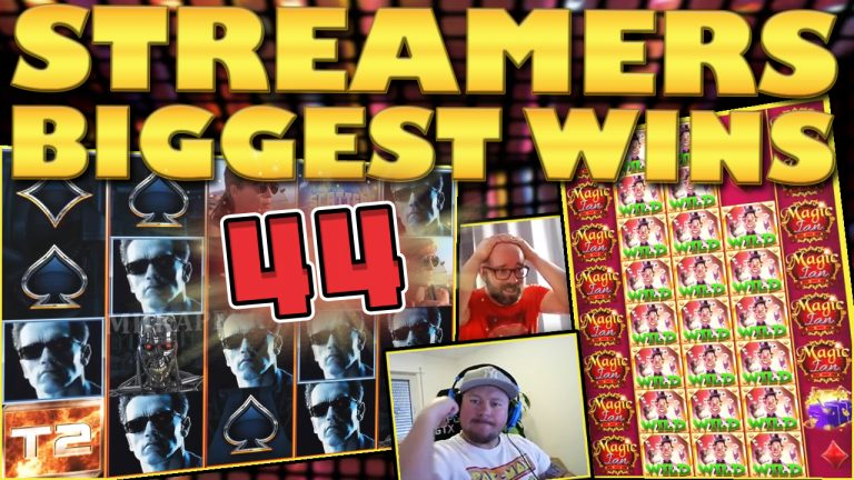 Watch the biggest casino streamer wins for week 44 2018