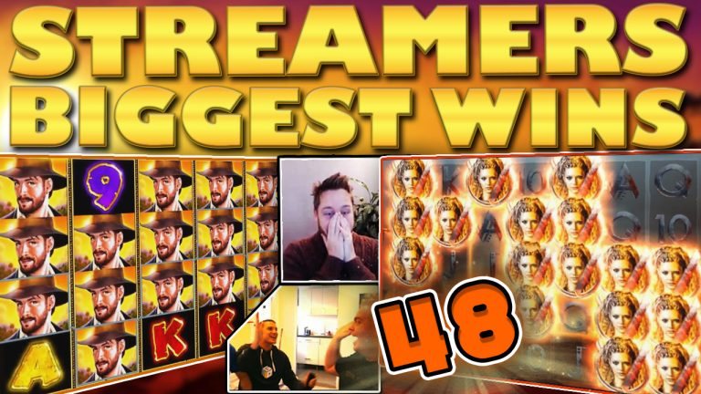 Watch the biggest casino streamer wins for week 48 2018