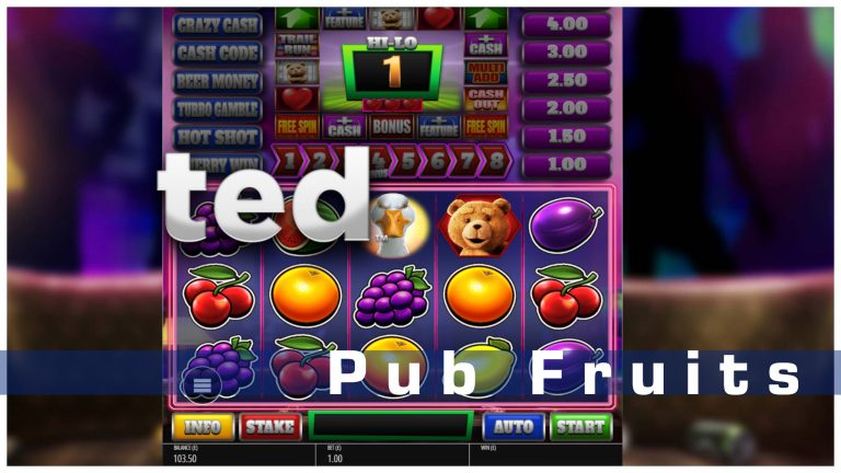 TED Returns in Pub Fruit Series Slot