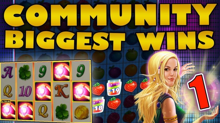 Watch the biggest Casino Streamer Community wins for week 1 2019