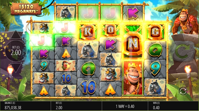 slots-return-of-kong-megaways-slot-reels-feature trigger