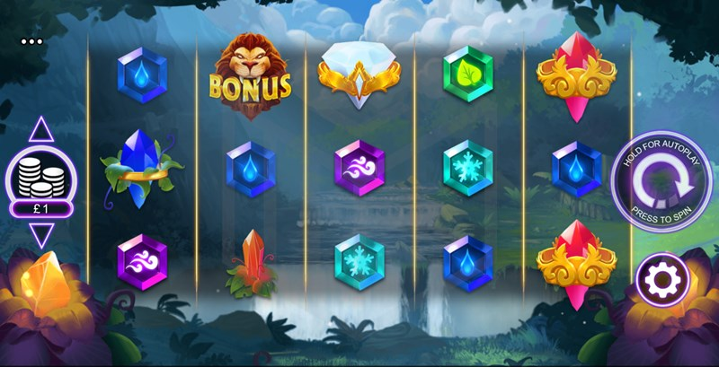 Elemental Beasts Slot Main Reel